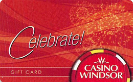Gift Card From The Casino Windsor In Ontario Canada - Gift Cards