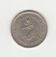 RHODESIE ET NYASSALAND - 3 PENCE 1964 - Rhodesia