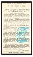 DP Invalied Oorlog 14-18 Camiel Georges Butaye / Leba ° Proven Poperinge 1891 † Sint-Jan-ter-Biezen Watou 1932 - Devotion Images