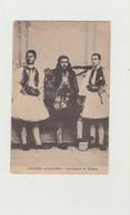 CARTOLINA COSTUMI ALBANESI - CACCIATORI DI VALONA POSTA MILITARE TRUPPE OCCUPAZIONE DEL 1918 WW1 - Albanien