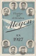L EQUIPE QUI DÉFENDRA  ALCYON EQUIPE 1927  CYCLISTES - Cycling