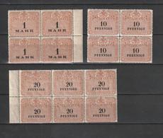 Deutschland - Lot Mit Stempelmarken In Einheiten ** (2516) - Alla Rinfusa (max 999 Francobolli)