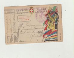 FRANCHIGIA POSTA MILITARE 130 A DEL 1918 ANNULLO COMANDO PRESIDIO MILITARE MESTRE WW1 - Franquicia