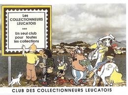 Exposition - Collectionneurs Leucatois - Club - Tintin Milou Astérix Obélix Lucky Luke - Jacques Hiron - Leucate - - Ausstellungen