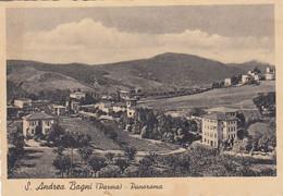 SAN ANDREA BAGNI-PARMA-PANORAMA-CARTOLINA VIAGGIATA IL 27-8-1936 - Parma
