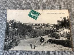 Carte Postale 1910 CP Nontron Dordogne Joli Paysage - Nontron