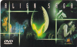 FRANCE - Alien Saga, Boulanger MediaShop Charge Card, Tirage 3500, Used - Spazio