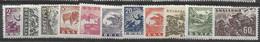Bulgaria Complete Set Mlh * 1946 - Unused Stamps