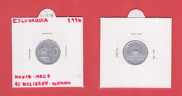 ESLOVAQUIA  10 HALIEROV  1.994  ALUMINIO  KM#17  MBC+/VF+  DL-12.751 - Slovakia
