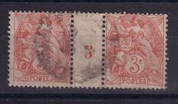 D 163 / N° 109 OBL MILLESIMES COTE 10€ - Verzamelingen