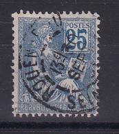 D 163 / N° 114 OBL / VARIETE BOUCLE DU 5 FERMEE COTE 70€ - Verzamelingen
