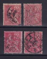 D 163 / N° 112 OBL  COTE 44€ - Verzamelingen