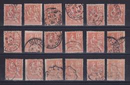 D 163 / N° 117 OBL  COTE 9€ - Verzamelingen