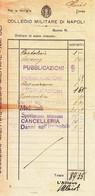 ** COLLEGIO MILITARE DI NAPOLI.-** - Documentos