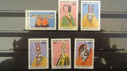 1988 Yv 775-780 MNH A58 - Burkina Faso (1984-...)