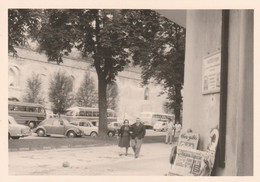 11693.  Fotografia Vintage Bus Pulman Auto Car Typ 1 Maggiolino Volkswagen 1962 Innsbruck - 10x7 - Automobile