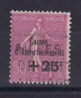 D 164 / LOT N° 254 OBL COTE 30€ - Verzamelingen