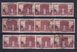 D 164 / LOT N° 258 OBL COTE 12€ - Verzamelingen