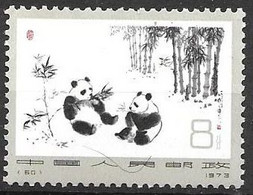 China Panda Mnh ** 1973 7 Euros - Nuevos