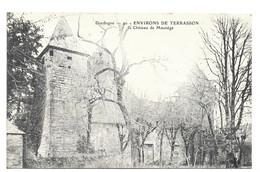 24 :  Environs De TERRASSON - Château De MAUNEGE Rare - Otros Municipios