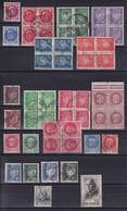 D 165 / LOT N° 505/525 OBL COTE 15€ - Verzamelingen