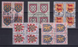 D 165 / LOT N° 899/903 BLOC DE 4 OBL COTE 6€ - Verzamelingen