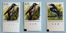 Pic  0,35   Pl 1 Et 2  +  4 F  Pl 2 - 1985-.. Birds (Buzin)