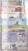 SYRIA 50 100 200 500 1000 2000 5000 LIRA 2009 2013 2015 P 112 113 114 115 116 117 NEW UNC SET - Syria