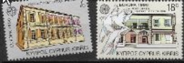 Chypre 1990 N° 746/747 Neufs Europa établissements Postaux - 1990