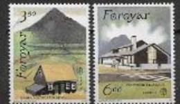 Féroé 1990 N° 192/193 Neufs Europa établissements Postaux - 1990