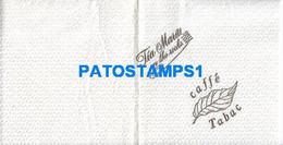 158678 ARGENTINA SERVILLETA PUBLICITY TIA MARIA ON THE ROCKS CAFFE TABAC NO POSTAL POSTCARD - Company Logo Napkins