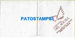 158679 ARGENTINA BUENOS AIRES SERVILLETA PUBLICITY CONFITERIA DEL AGUILA NO POSTAL POSTCARD - Company Logo Napkins