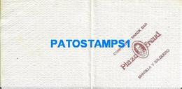 158681 ARGENTINA BUENOS AIRES SERVILLETA PUBLICITY CONFITERIA SNACK BAR PLAZA FREUD NO POSTAL POSTCARD - Company Logo Napkins
