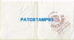 158682 ARGENTINA BUENOS AIRES SERVILLETA PUBLICITY CONFITERIA HELMET NO POSTAL POSTCARD - Company Logo Napkins