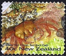 New-Zealand 1996 - Mi 1543 - YT 1434F ( Crab ) - Used Stamps