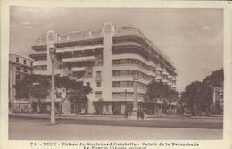 Nice -  Entée Du Boulevard Gambetta - Palais De La Promenade - Le Forum (Dikansky, Architecte) - (P) - Monuments