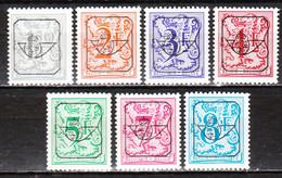 PRE801P7/13P7**  Chiffre Sur Lion Héraldique - Série Complète - MNH** - LOOK!!!! - Typo Precancels 1967-85 (New Numerals)