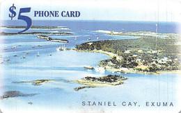 Batelco $5 Phone Card - Staniel Cay, Exuma Bahamas - Bahamas