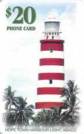 Batelco $20 Phone Card - Hope Town Harbour Light, Abaco Bahamas - Bahamas