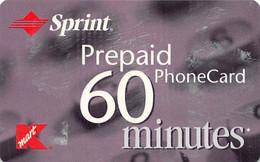 Sprint Prepaid 60 Minutes Phone Card - Telecom Operators