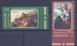 2021. Moldova, Easter, Paintings From Mational Art Museum, 2v, Mint/** - Moldavia