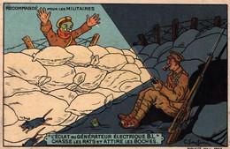 Publicité Illustration Santini: Générateur électrique B.L. (recommandé Pour Les Militaires) Maison Bretonnel, Paris - Pubblicitari