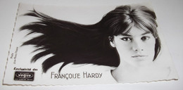 CARTE POSTALE DISQUE VOGUE...FRANCOISE  HARDY. - Cantantes Y Músicos