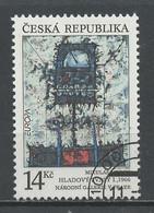 Europa CEPT 1993Tchéquie - Tschechien - Czech Y&T N°5 - Michel N°5 (o) - 14k EUROPA - 1993