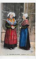VALMEINIER - N° 21 - FEMMES EN COSTUMES FOLKLORIQUE DE SAVOIE - Ed. ADIA - SUPERBE CPA COULEUR NON VOYAGEE - Altri Comuni
