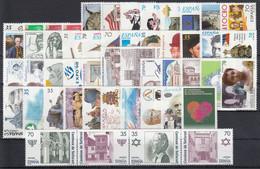 ESPAÑA 1998 Nº 3525/3613 NUEVO AÑO COMPLETO, MENOS 3544/3545, 50 SELLOS,2 HB,2 MP,1 BLOQUE - Full Years