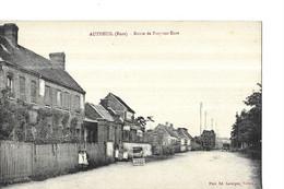 AUTHEUIL N 1   LE CARREFOUR     MAISONS   FACON PHOTO          DEPT 27 - Altri Comuni