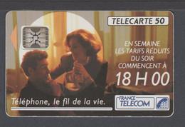 TELECARTE F207Ad TARIFS 18H SC5 05/92 - 1991