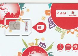 Jersey/Guernsey - Airtel Vodafone (standard,micro,nano SIM)- GSM SIM  - Mint - [ 7] Jersey And Guernsey