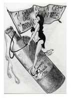 """CPM - 1° SALON DE LA C.P.M. DE NANTES MORDAX """" CUVÉE PIRATE """" (CAROLE) - Contemporary (from 1950)"""